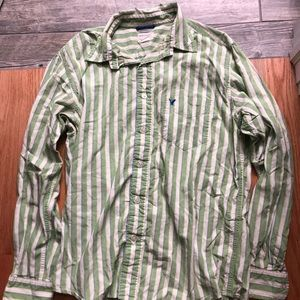 American Eagle button up shirt size men's medium